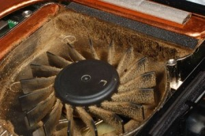 Bottom Of Laptop Is Too Hot