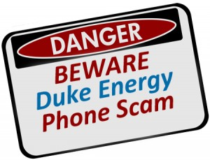 Duke Energy Phone Scam