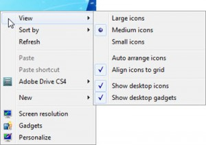 How to Arrange or Move Desktop Icons