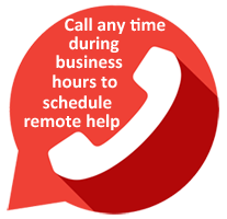 Call to schedule remote computer repair